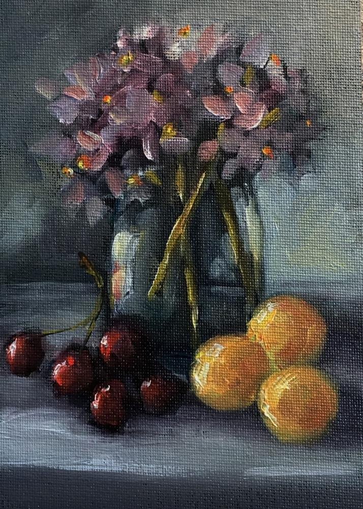 """Sweet Goodness still life painting by Alabama Artist Angela Sullivan"" original fine art by Angela Sullivan"
