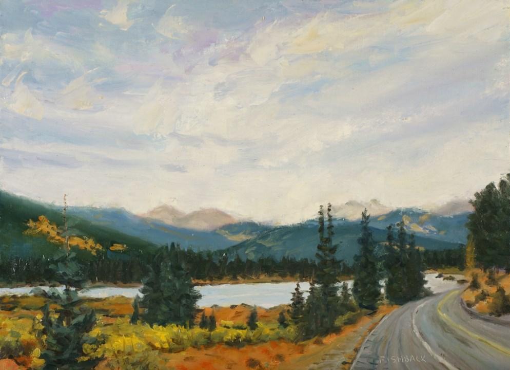 """""""Guenella Pass Colorado"""" original fine art by Daniel Fishback"""