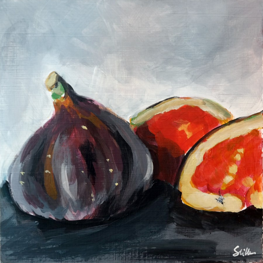 """1860 Figs"" original fine art by Dietmar Stiller"