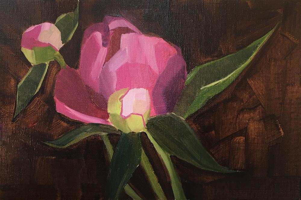 """""""#10"""" original fine art by Van DeGoede"""