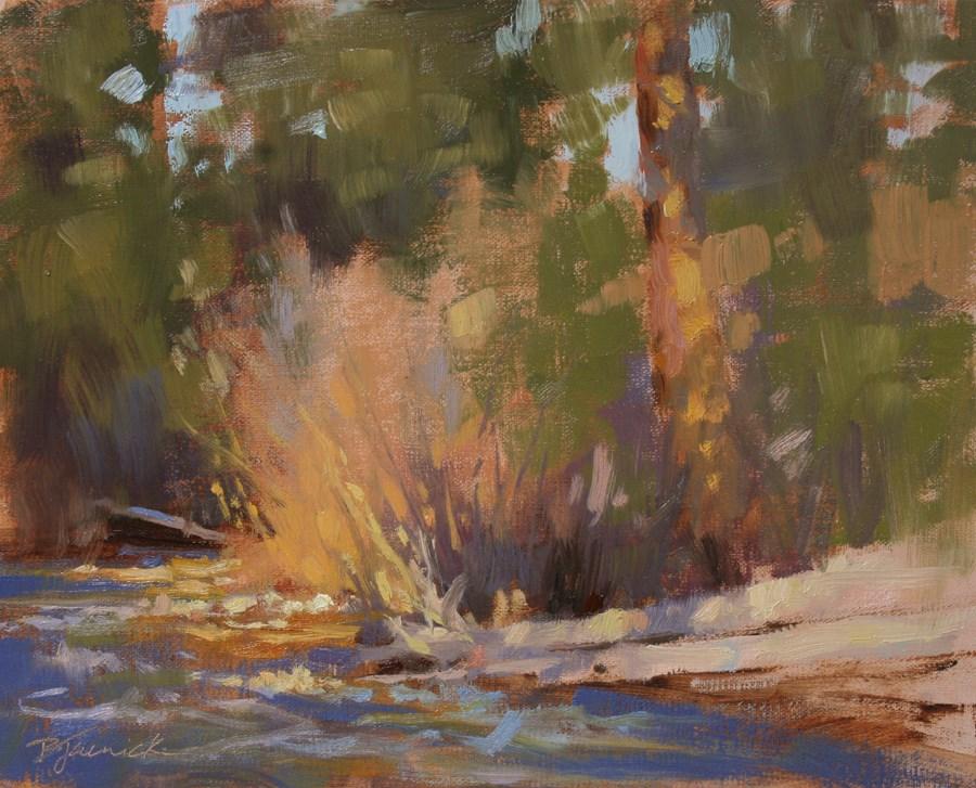 """Springtime's Arrival"" original fine art by Barbara Jaenicke"