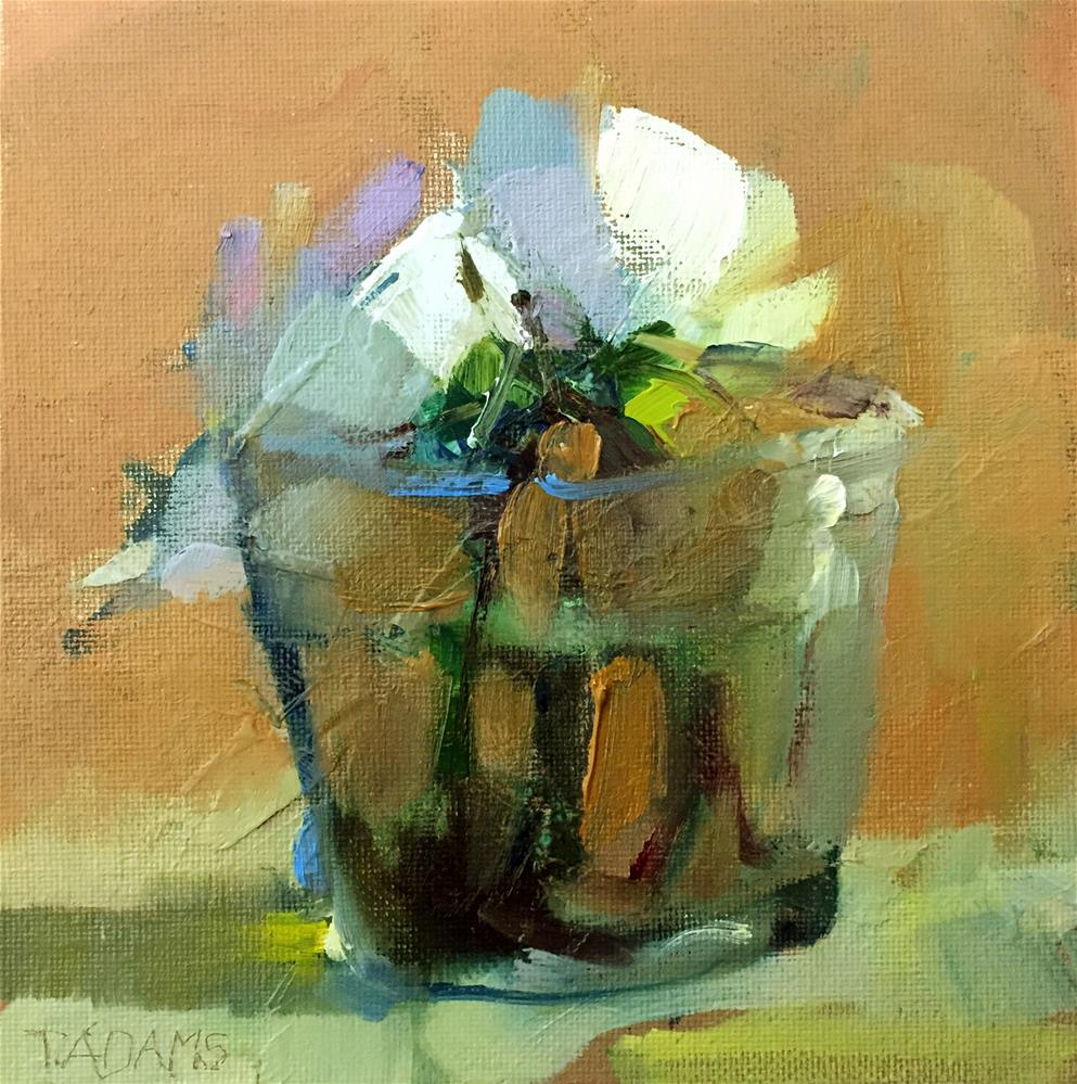 """Posies"" original fine art by Trisha Adams"