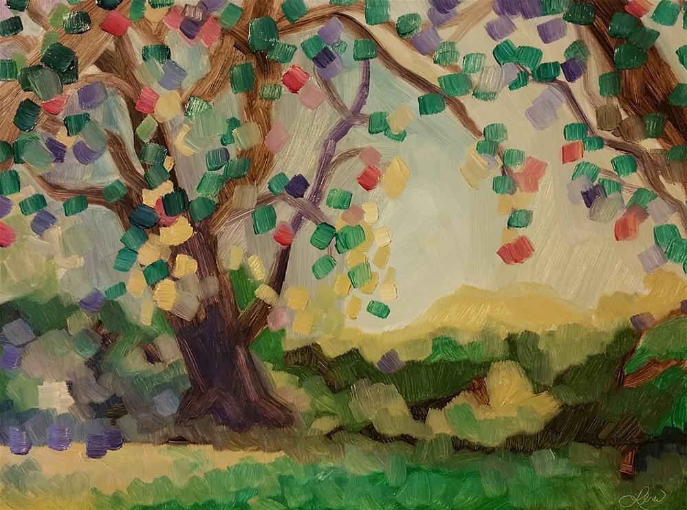 """Serenity II"" original fine art by Leni Tarleton"