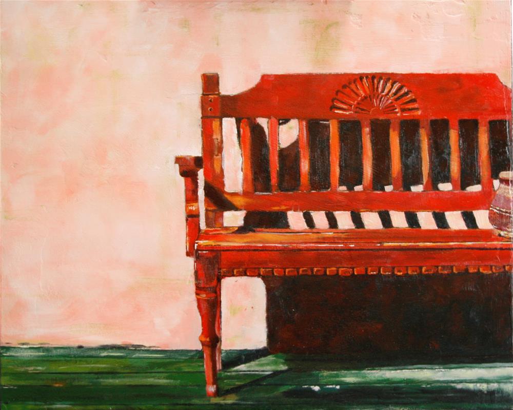 """""""Rest awhile"""" original fine art by Leslie Miller"""
