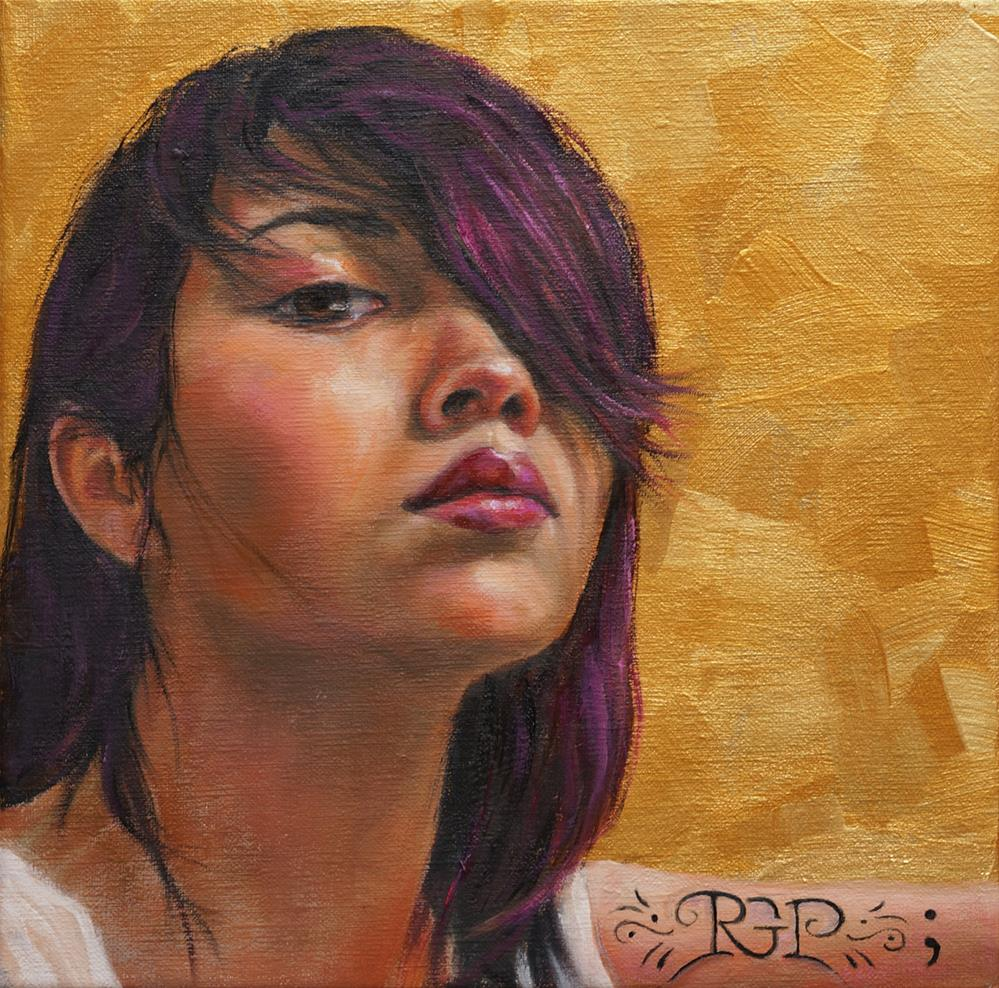 """Uninvited"" original fine art by Rhea  Groepper Pettit"