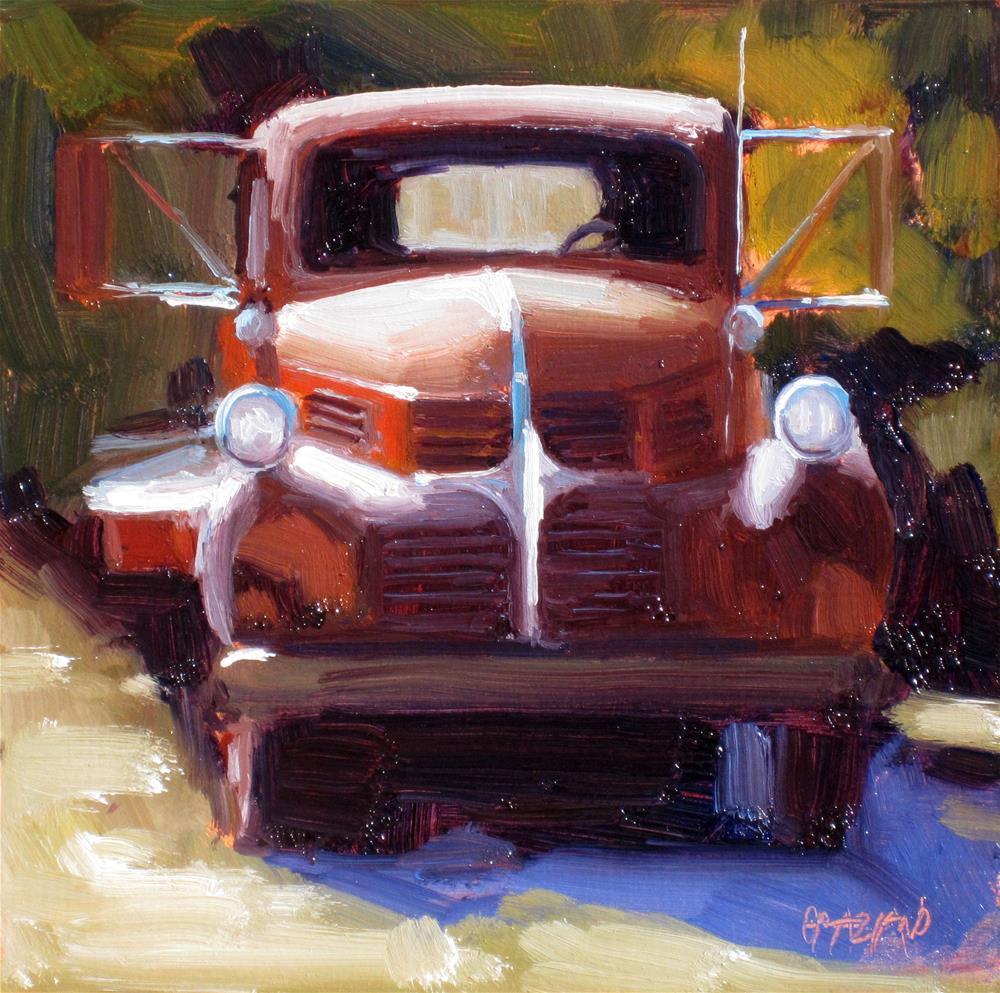 """""""flatbed"""" original fine art by Dan Graziano"""