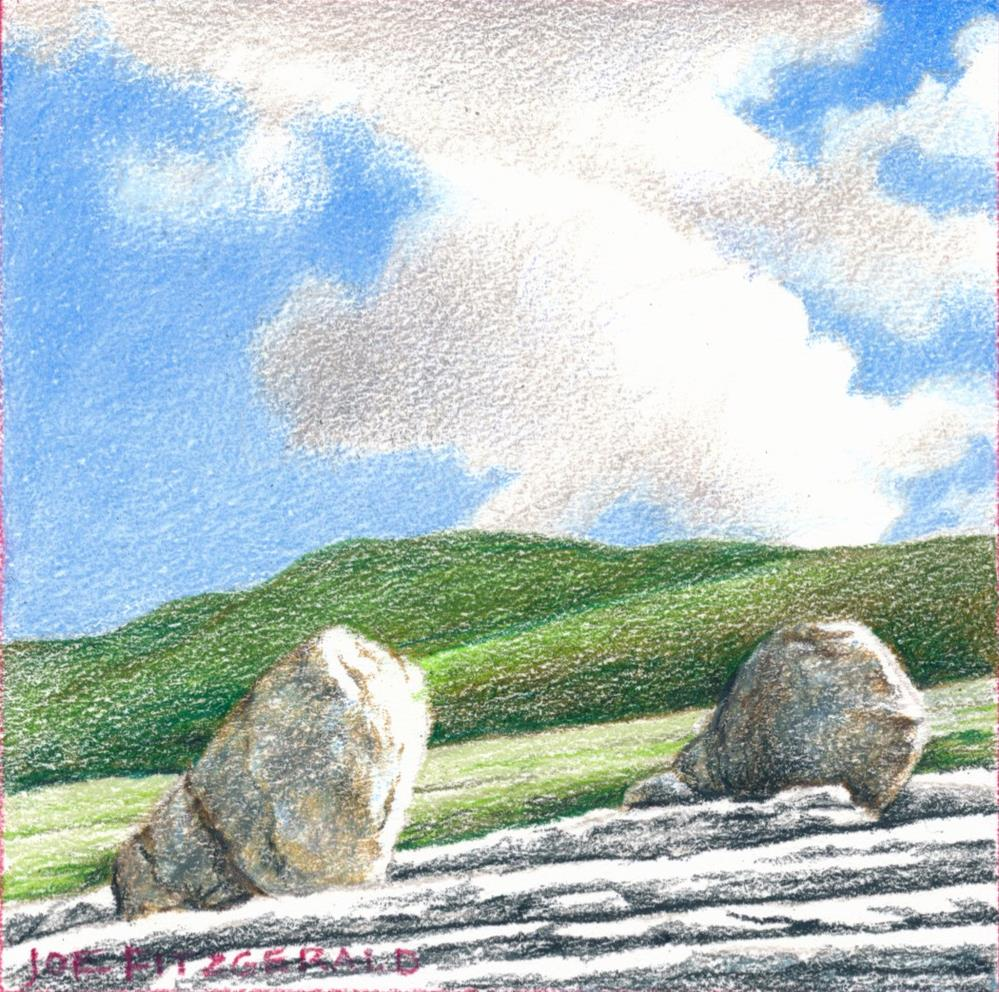 """On The Burren III"" original fine art by Joe Fitzgerald"