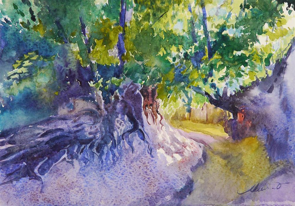 """ravine_4"" original fine art by Beata Musial-Tomaszewska"