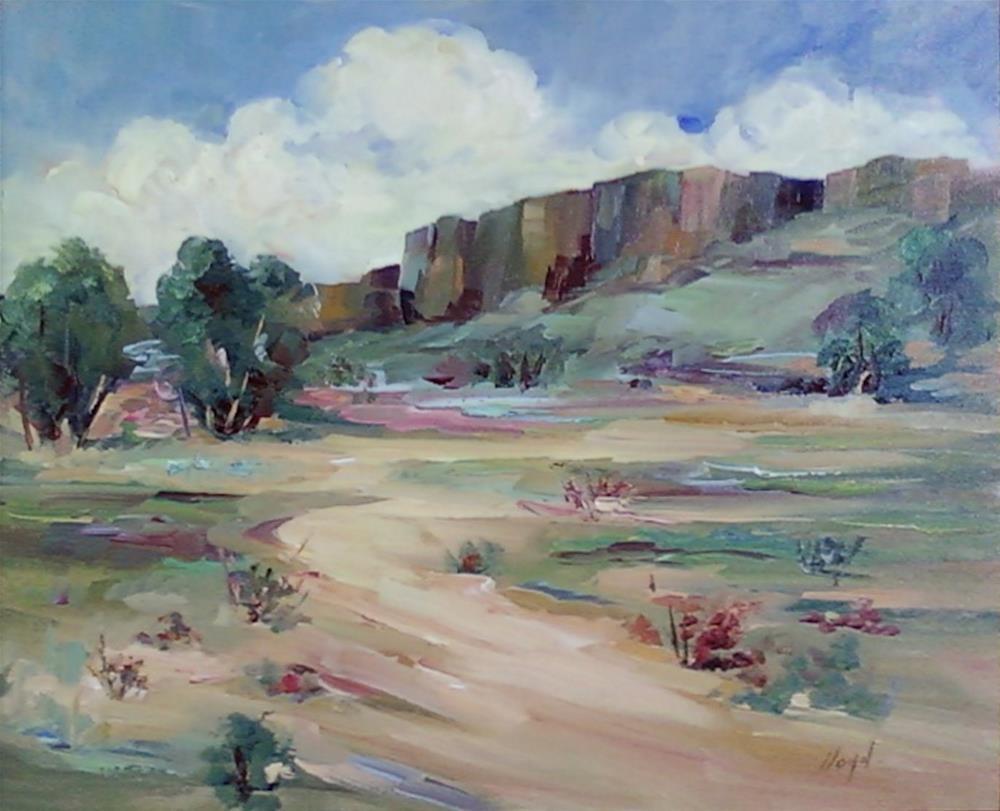 """Apache Trail"" original fine art by Diane Lloyd"