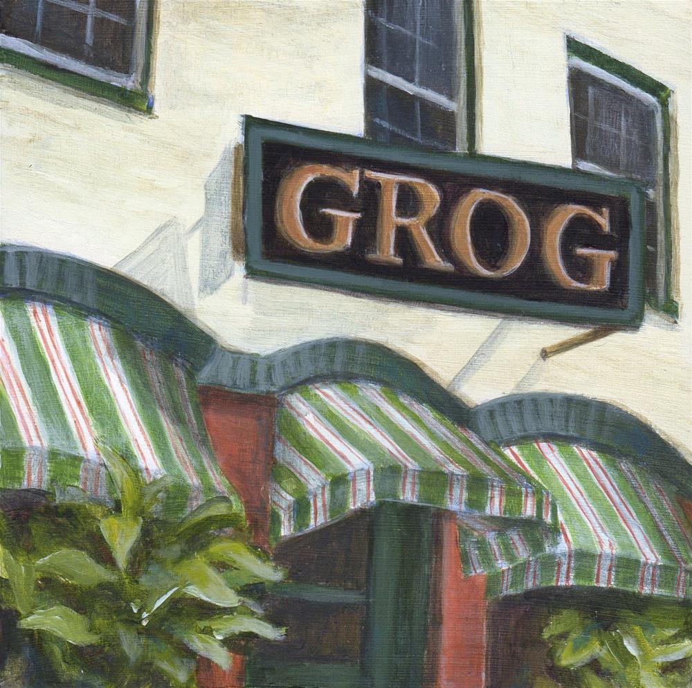 """Grog"" original fine art by Debbie Shirley"