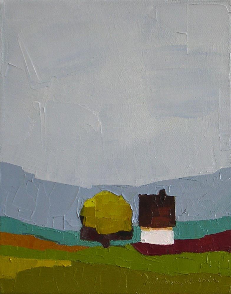 """""""A Quiet Spot"""" original fine art by Donna Walker"""