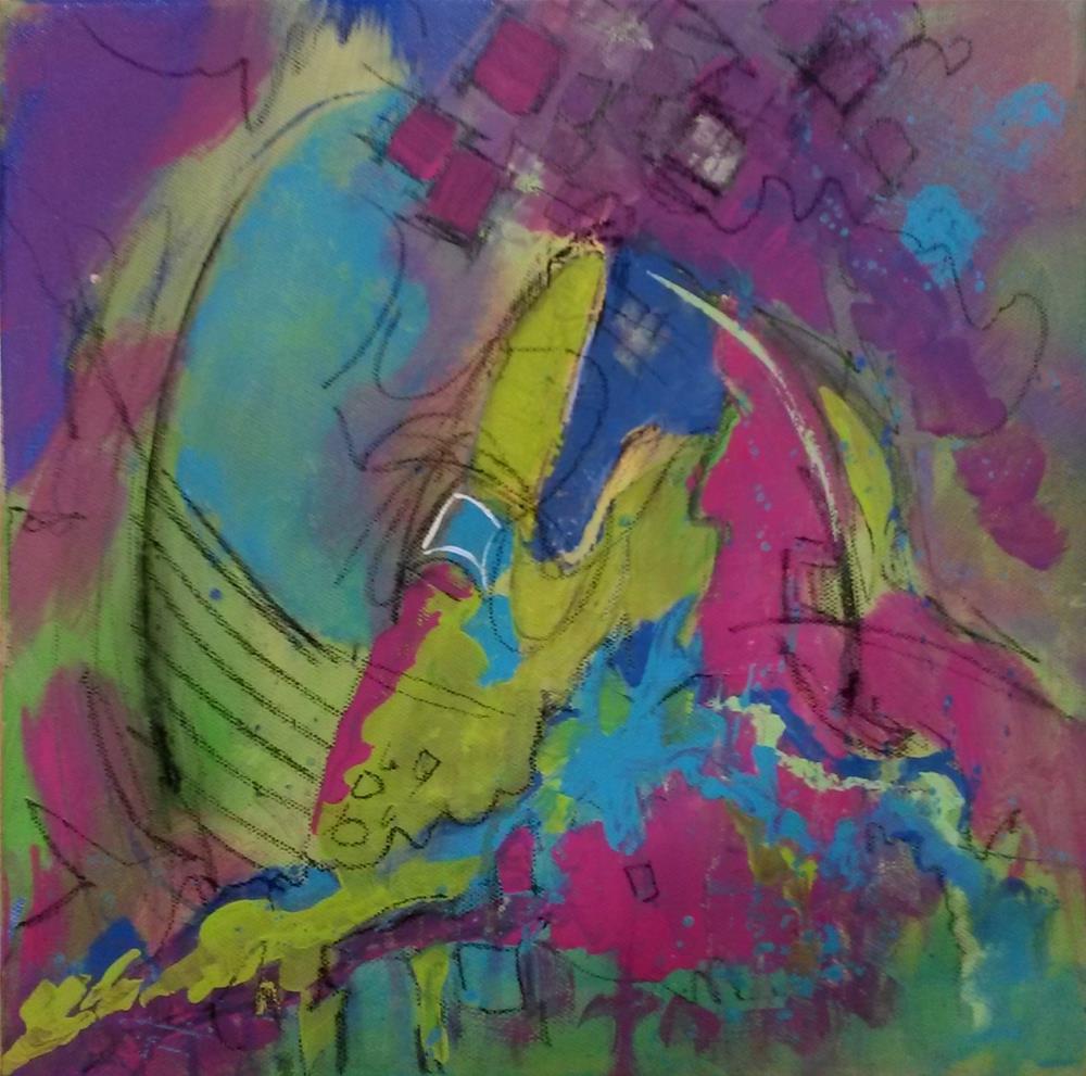 """""""Rockin"""" original fine art by Terri Einer"""