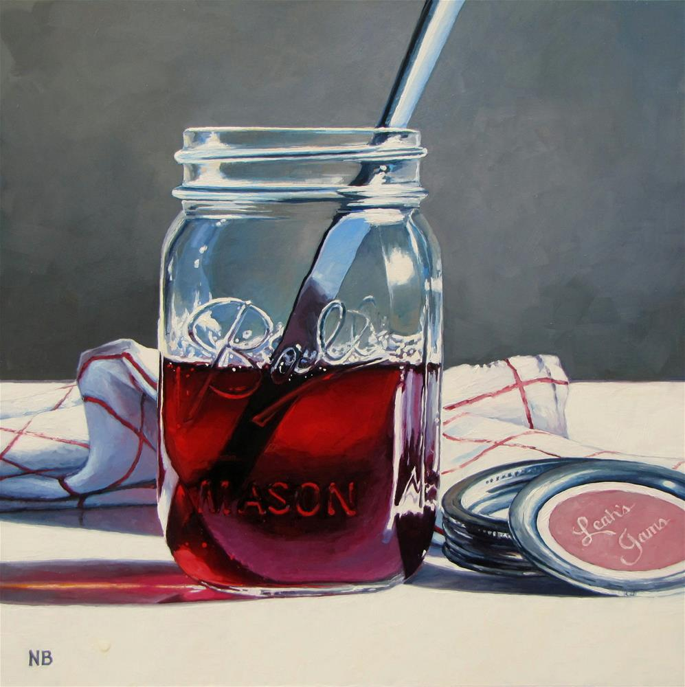 """Leah's Jams"" original fine art by Nora Bergman"