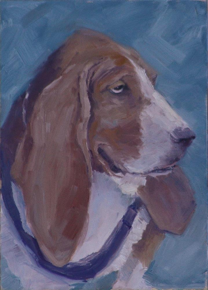 """Floyd"" original fine art by Sheila Marie"
