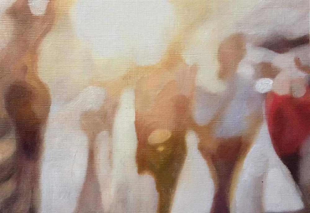 """Summer Stroll"" original fine art by John Cameron"