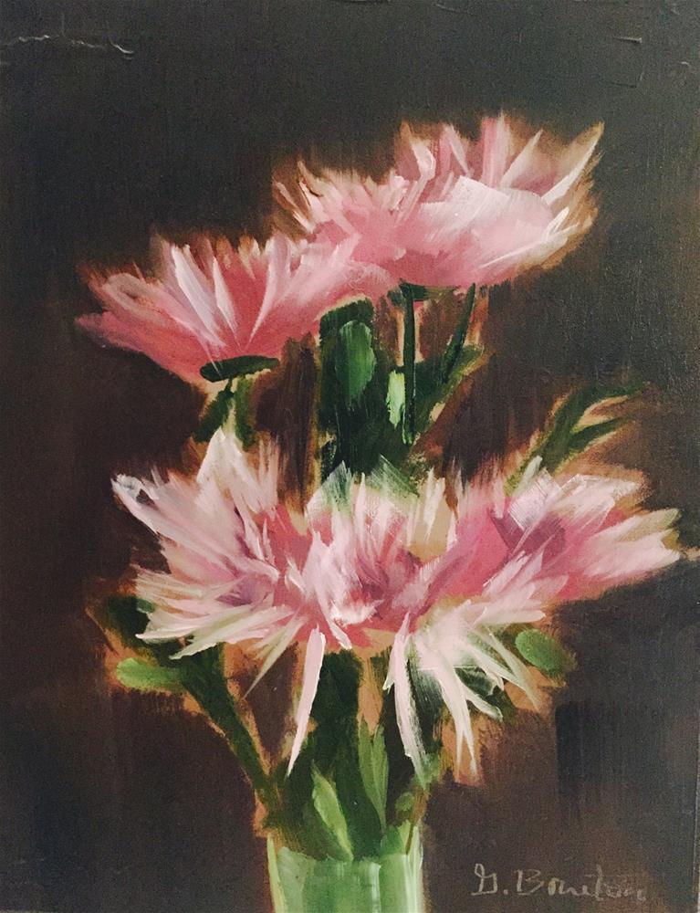 """""""Mums II"""" original fine art by Gary Bruton"""