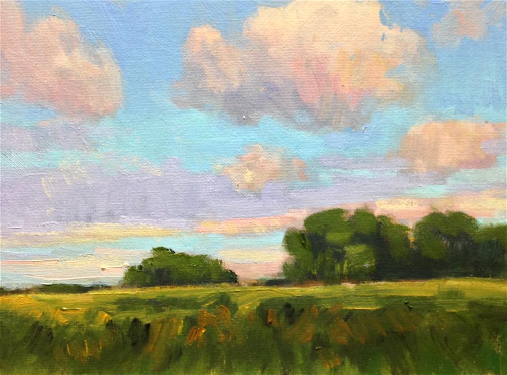 """""""Late Afternoon"""" original fine art by David Forks"""