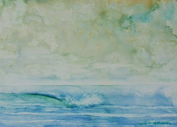 """Calm Seas"" original fine art by Jana Johnson"