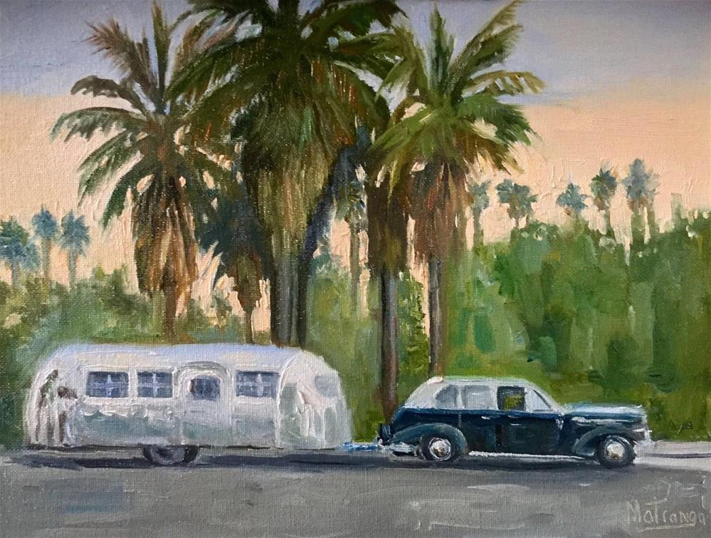 """California Dream"" original fine art by Patricia Matranga"