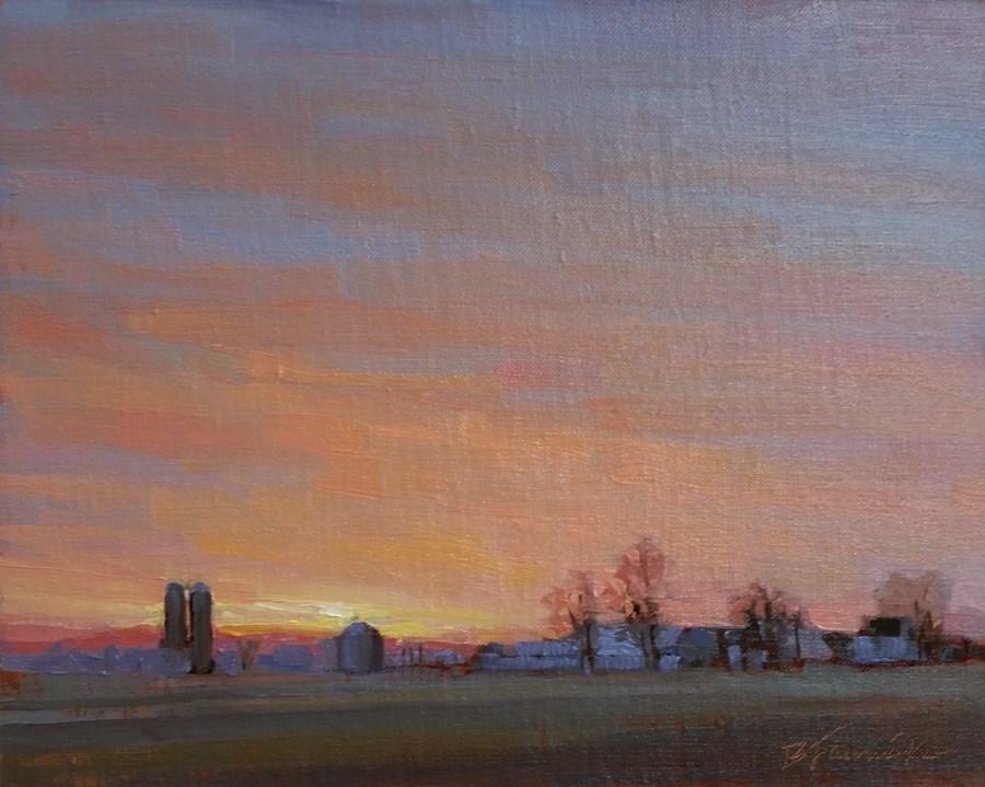 """A Quiet Ending"" original fine art by Barbara Jaenicke"