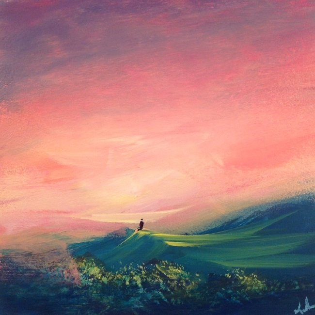 """More Than Understood"" original fine art by David Kuhn"