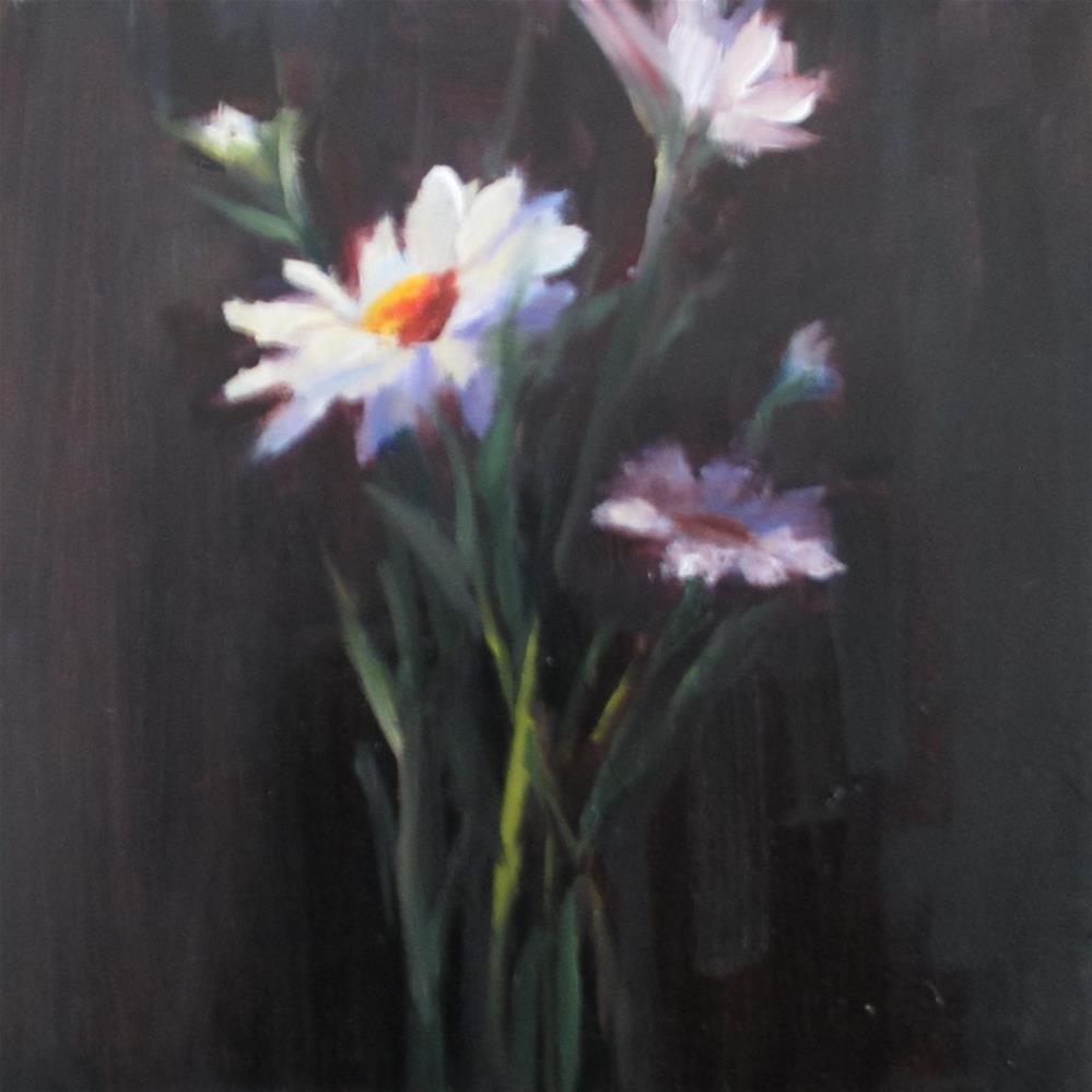 """""""Springing Up"""" original fine art by Linda Carney"""