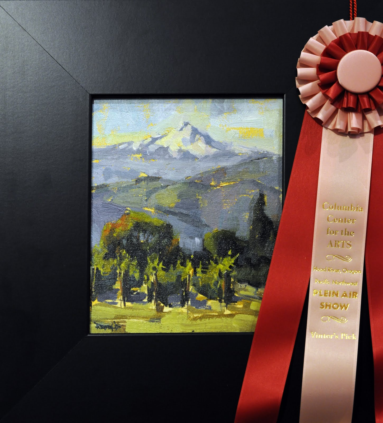 """Awards at the PNW Plein Air 2011 Competition in Hood River, OR"" original fine art by Cathleen Rehfeld"
