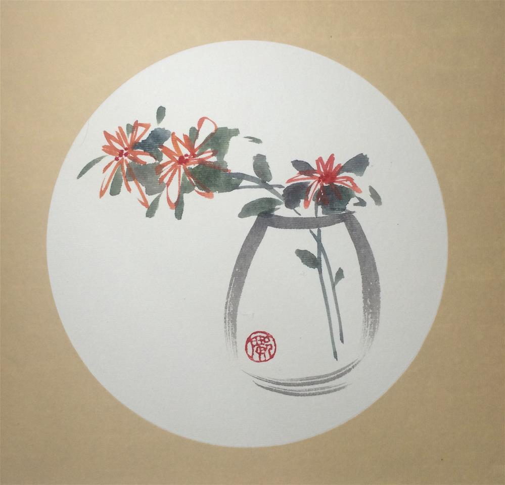 """""""Tranquil"""" original fine art by R kwong"""