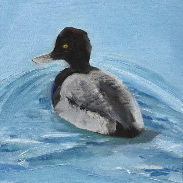 """""""Just Duckie"""" original fine art by Jane Frederick"""