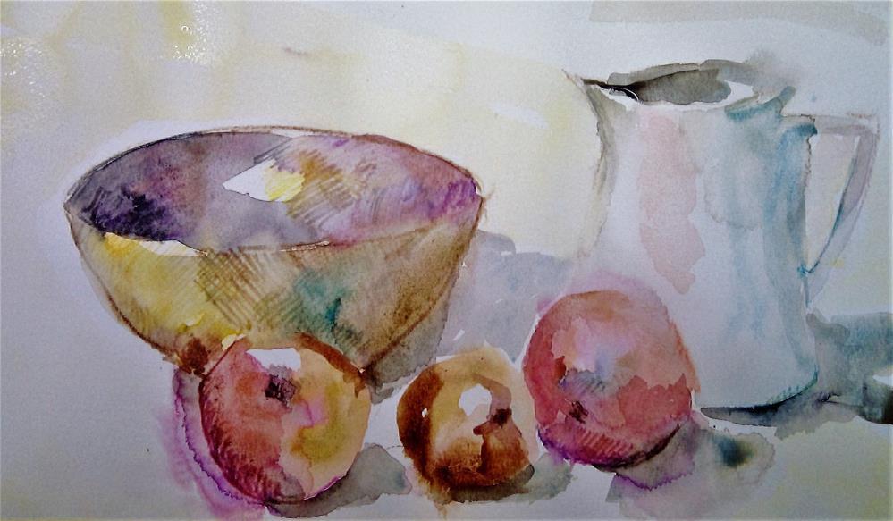 """ON A KITCHEN TABLE"" original fine art by Ferran Llagostera"