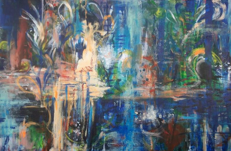 """Symphony"" original fine art by Becky Chappell"