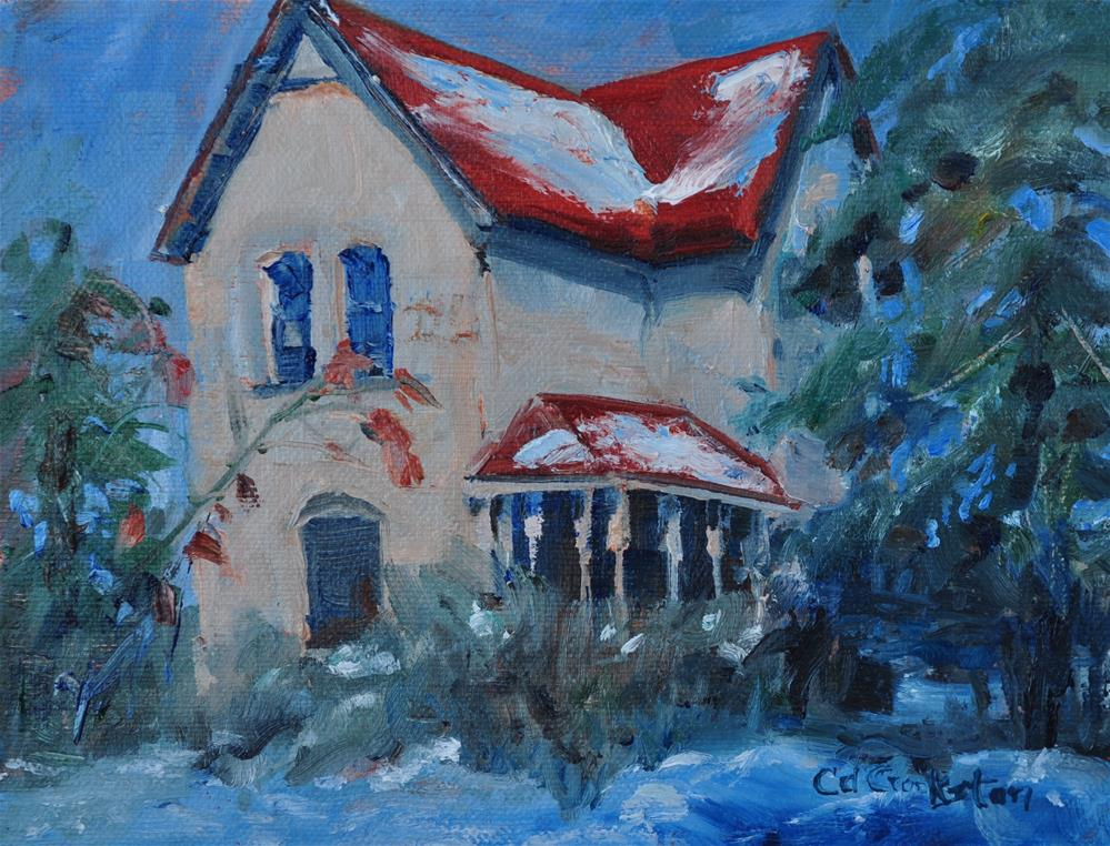 """Old Franklin Mill"" original fine art by Catherine Crookston"