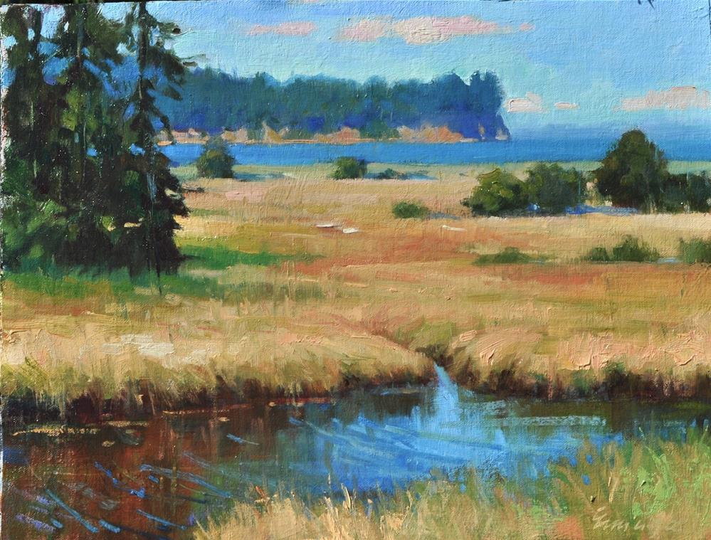 """Salt Creek"" original fine art by Emiliya Lane"
