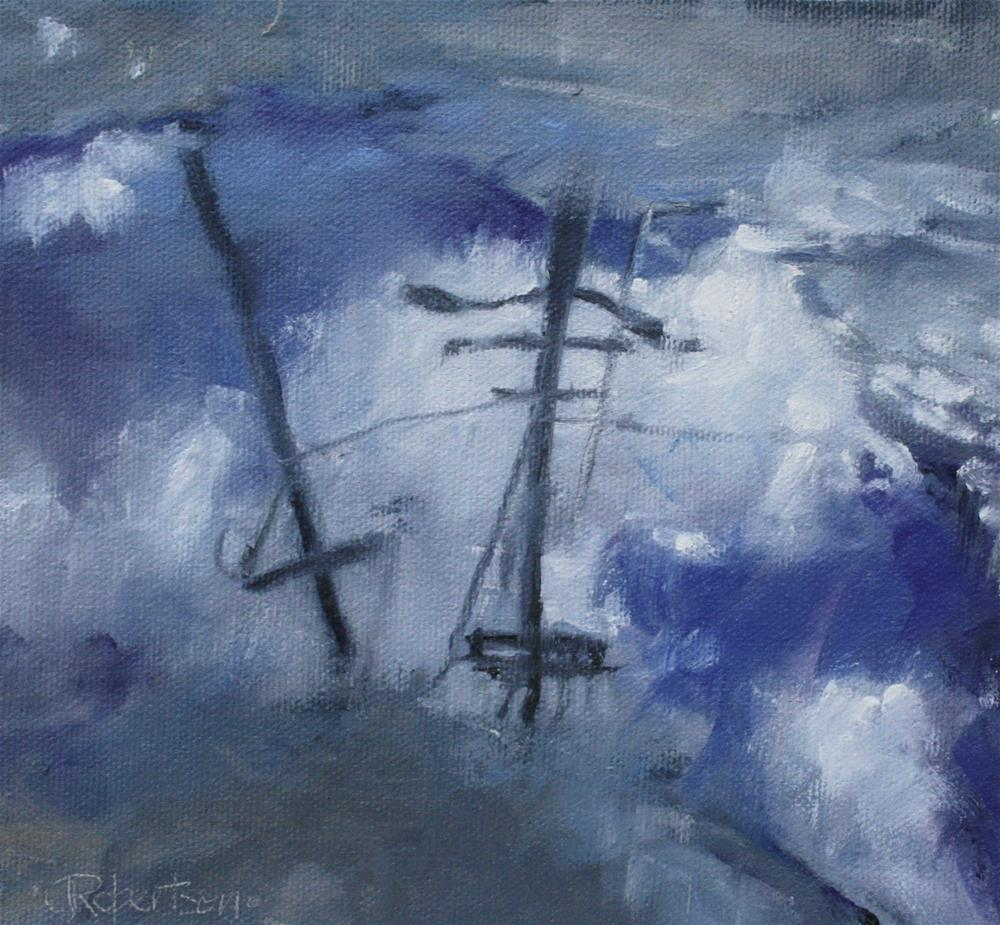 """Rainy Day"" original fine art by Jane Robertson"