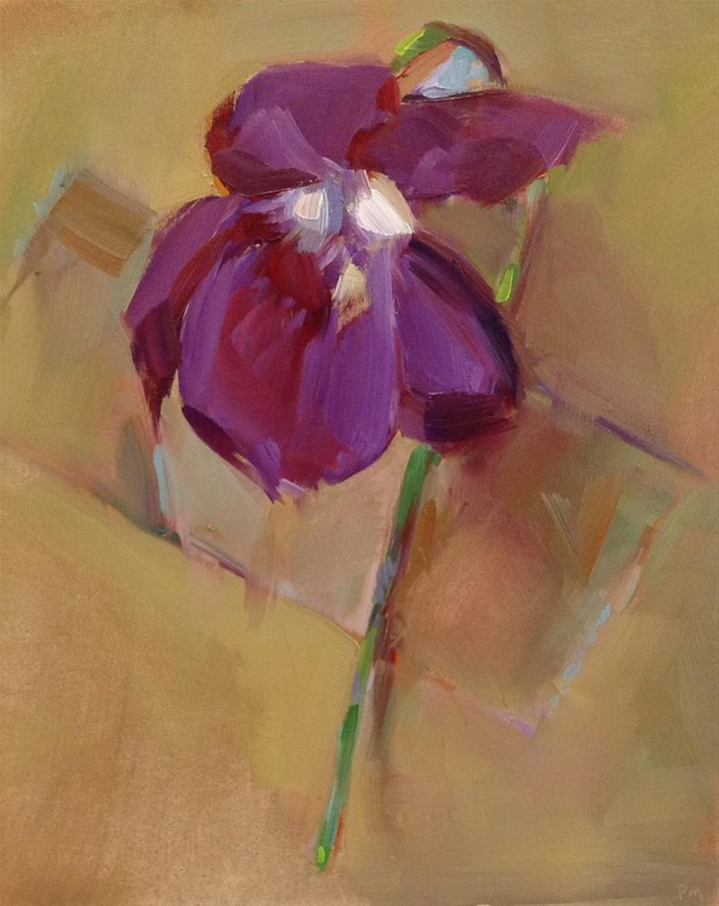 """Violette"" original fine art by Patti McNutt"