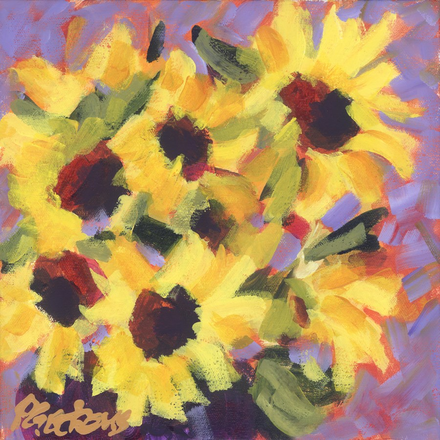 """Sunny Faces"" original fine art by Pamela Gatens"