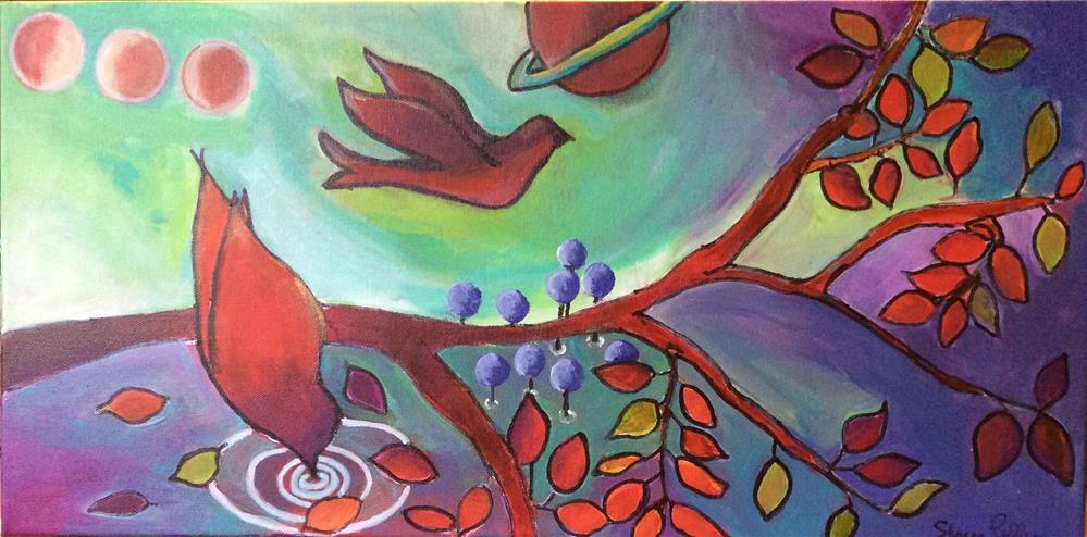 """A Whole New World"" original fine art by Sharon Cullen"