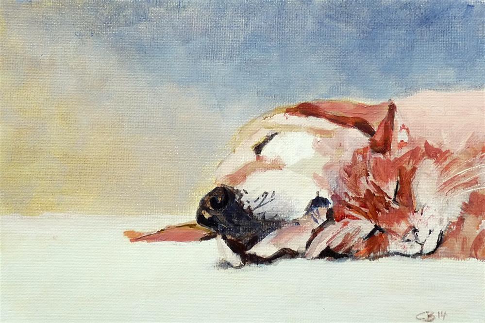 """Two"" original fine art by Claudia Brandt"