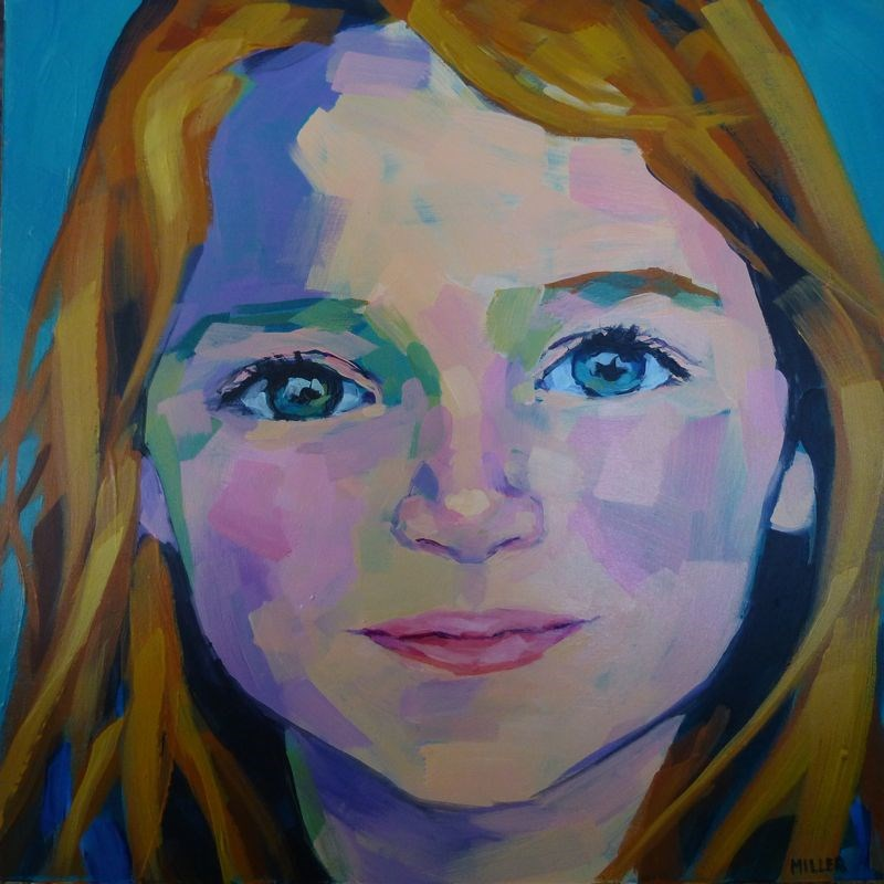 """Portrait Commission"" original fine art by Jessica Miller"