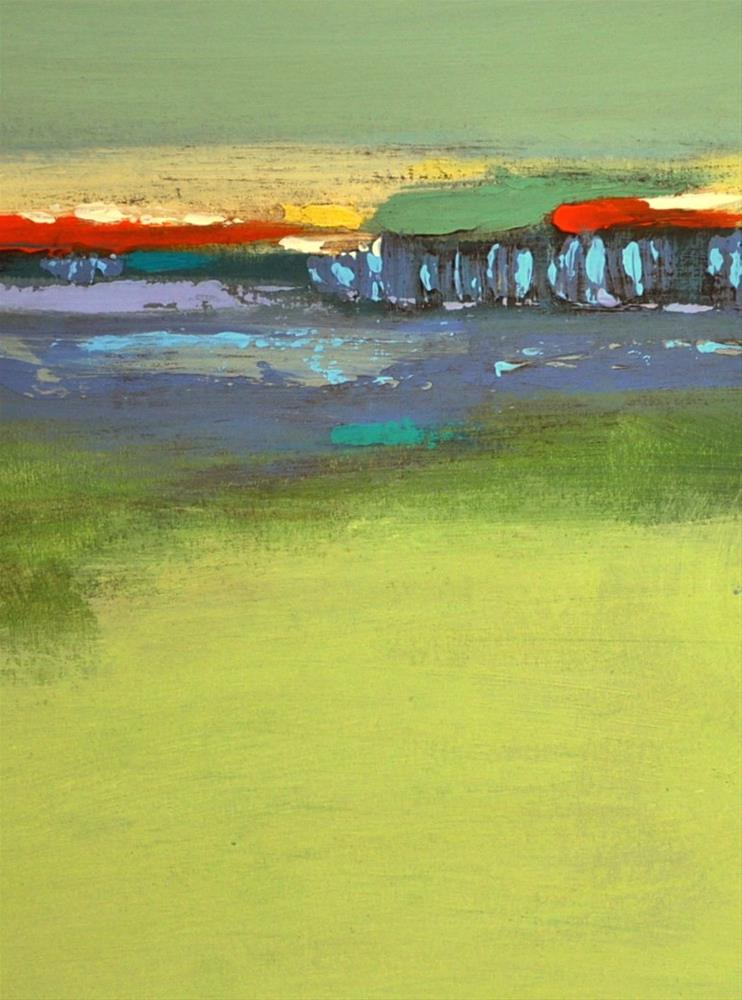 """Landscape 199"" original fine art by Ewa Kunicka"