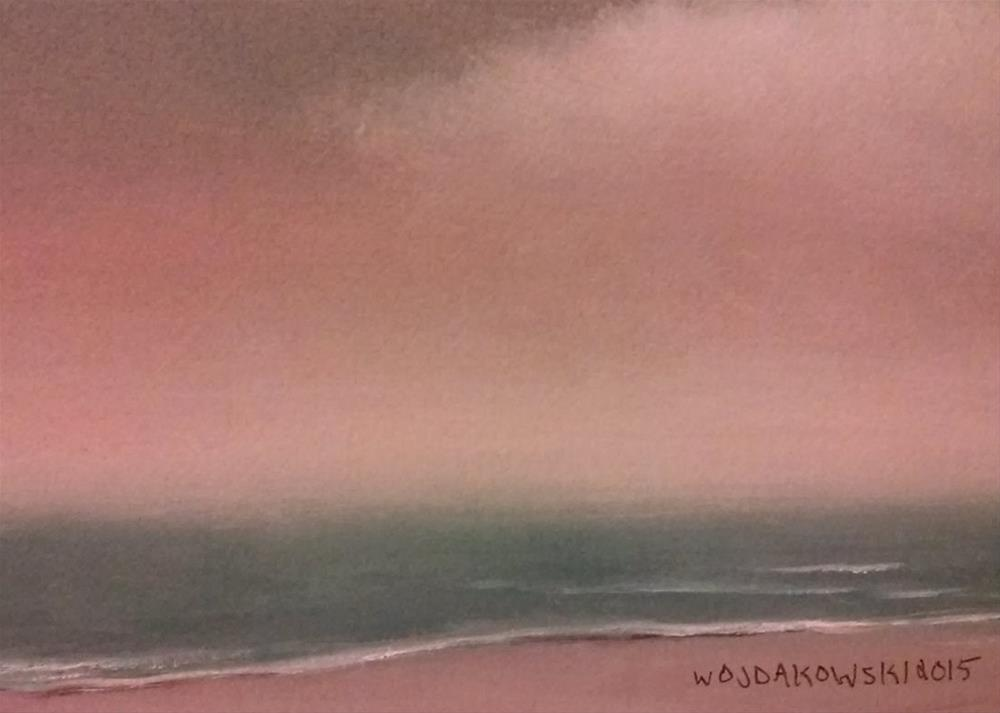"""Coastal Maine #13"" original fine art by Joe Wojdakowski"