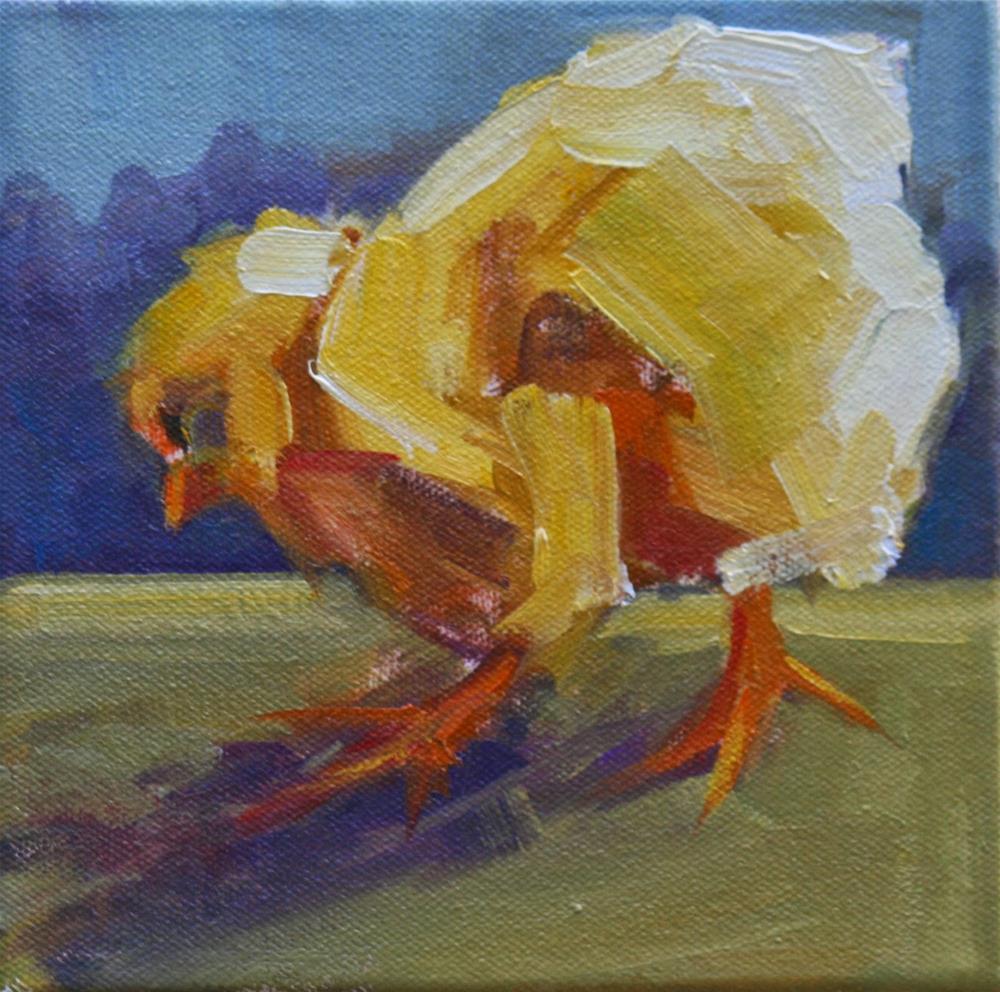 """graze"" original fine art by Carol Carmichael"