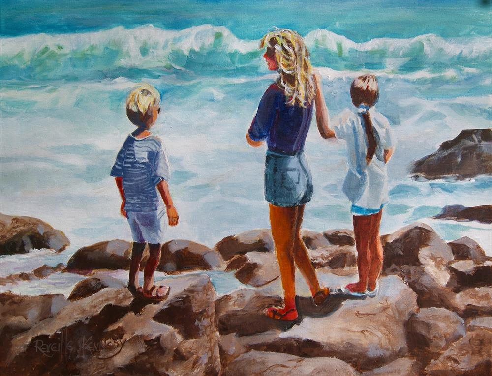 """Naturally Inspired by the Sea"" original fine art by Reveille Kennedy"