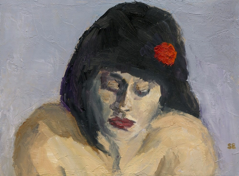 """Island Girl"" original fine art by Stanley Epperson"