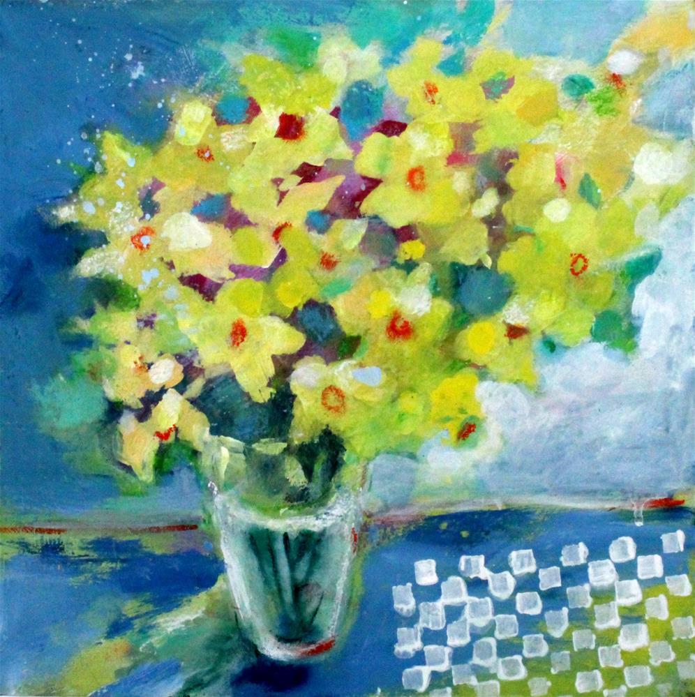"""Spring Daffodils"" original fine art by Kerri Blackman"