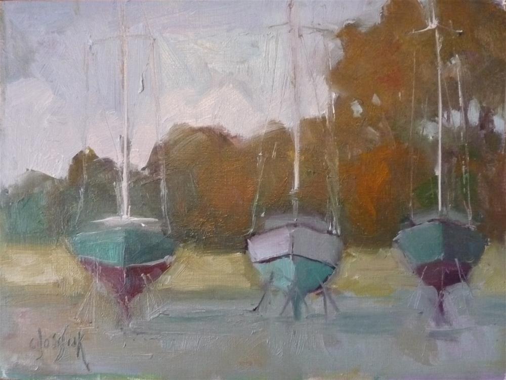 """Waiting for Spring"" original fine art by Carol Josefiak"
