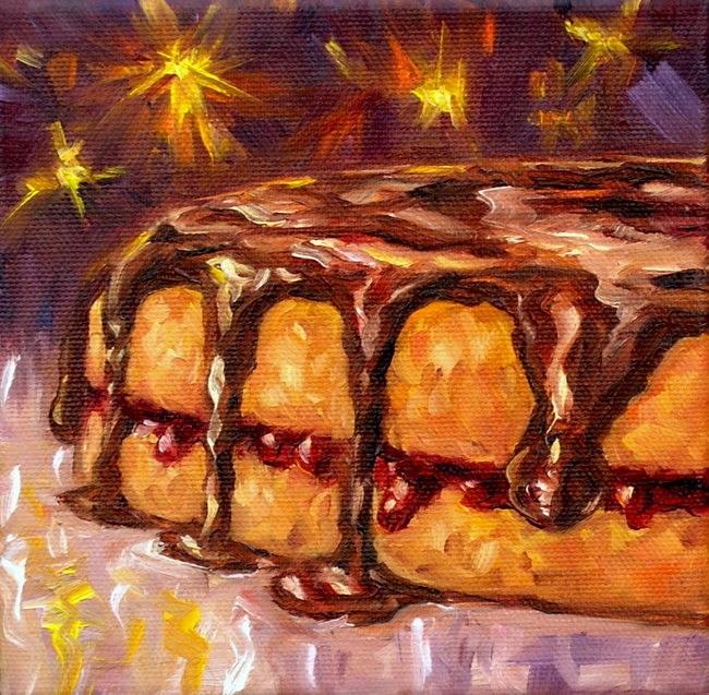 """Let's celebrate!"" original fine art by Irina Beskina"