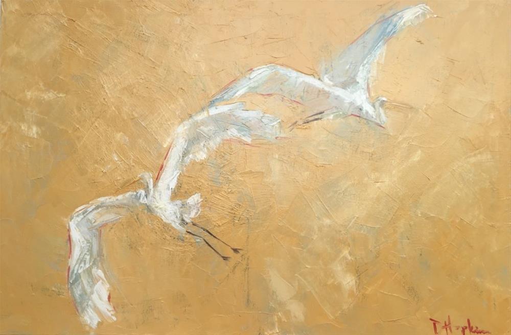 """After You"" original fine art by Denise Hopkins"