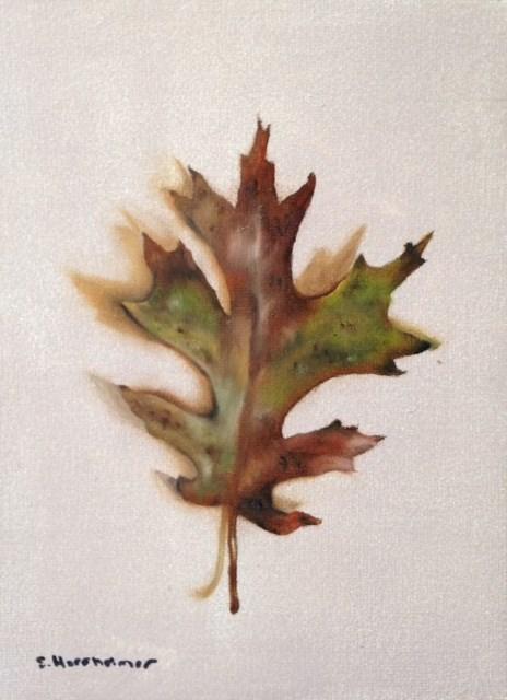 """""""Pin Oak"""" original fine art by Susan Hoffheimer"""