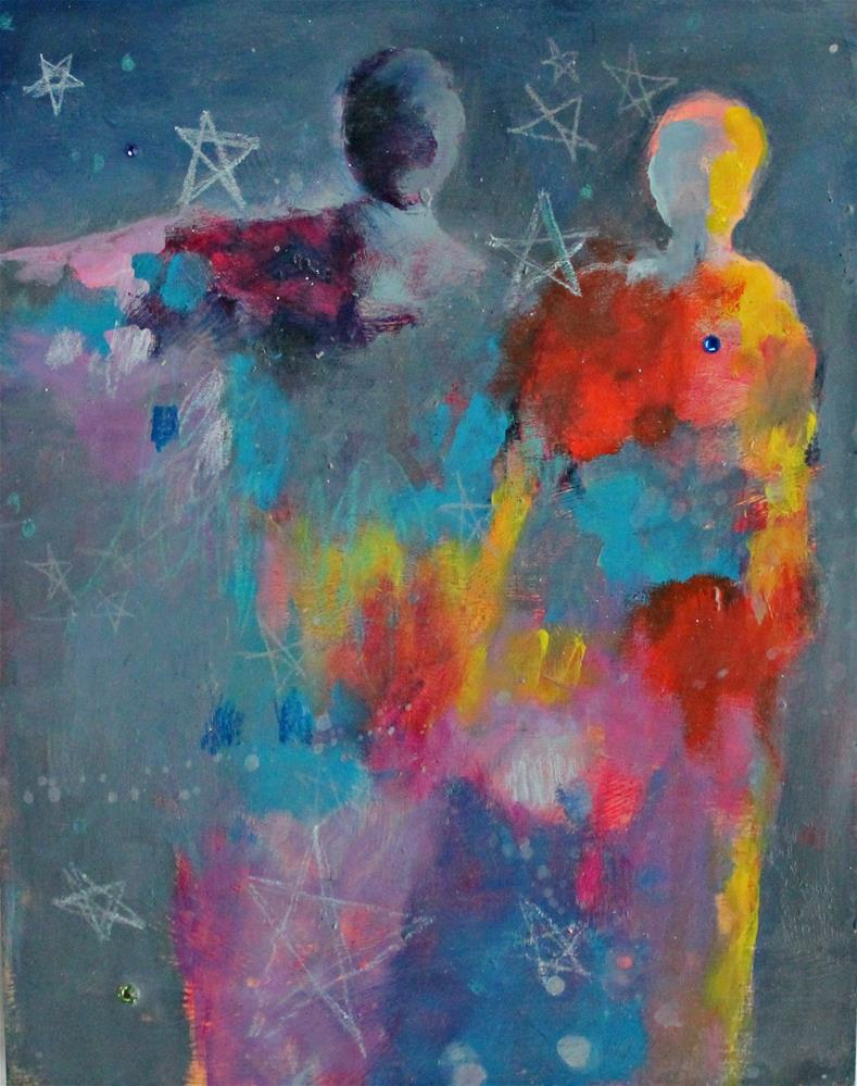 """Star Dreamers "" original fine art by Kerri Blackman"
